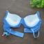 Wacoal Mood ลายน่ารักๆ สีน้ำเงิน Size B75 thumbnail 5