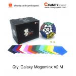 X-Man Galaxy Megaminx V2 M Concave Black *มีแม่เหล็ก*