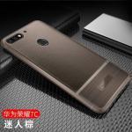 (พรีออเดอร์) เคส Huawei/Y7 Pro 2018-เคสนิ่มลายหนัง เรียบหรู สีน้ำตาล