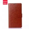 (พรีออเดอร์) เคส Oppo/R9s Pro-Flip case หนังสีเรียบ