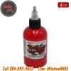 [WORLD FAMOUS] หมึกสักเวิล์ดเฟมัส หมึกสักลายเวิล์ดเฟมัส สีสักลายสีแดง ขนาด 4 ออนซ์ สีสักนำเข้าจากประเทศอเมริกา World Famous Tattoo Ink - Paul Rogers Red (4OZ/120ML)