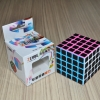 Z-Cube 5x5x5 with black carbon-fibre stickers - Full Bright