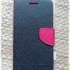 เคส asus zenfone 5 หมายเลขรุ่น ASUS_T00P , ASUS_T00J , ASUS_T00K ฝาพับ ฝาปิด MERCURY FANCY DIARY สีดำ-แดง มีที่ล็อคด้านข้าง สีเรียบ สวย เท่ห์