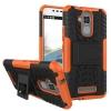 เคส asus zenfone 3 Max 5.2 นิ้ว zc520tl TPU+PC DAZZLE KICKSTAND CASE สีส้ม