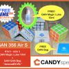 GAN356 Air S Master * แถม GAN Magic Lube 10ml + GAN Bag*