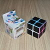 Z-Cube 2x2 with black carbon-fibre stickers - Full Bright