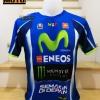 เสื้อยืด yamaha MotoGP 2018 ผ้าโพลีเอสเตอร์