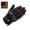 ถุงมือขี่มอเตอร์ไซค์ ไทชิ Rst 410 สีดำ-แดง