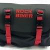 กระเป๋าคาดเอว Rock biker กันน้ำ สีแดง