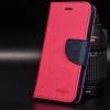 เคส asus zenfone go 5.5 zb552kl (ASUS_X007D) , asus zenfone dtac edition 5.5 เวอร์ชั่น 2 zb552kl (ASUS_X007D) ฝาพับ ฝาปิด fancy diary case สีชมพูเข้ม