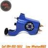 [BISHOP RCA] เครื่องสักโรตารี่บิชอปชนิดเชื่อมต่อสายเกี่ยว เครื่องสักมอเตอร์ เครื่องสักลายแทททู (Blue Bishop Rotary Tattoo Machine with RCA Connection)