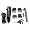 [SONAR V.4] แบตตาเลี่ยนตัดผมชายสีดำ แบตเตอเลี่ยนมีสาย แบตเตอร์เลี่ยนตัดผมเด็ก ชุดปัตตาเลี่ยนไฟฟ้าพร้อมหวีรองปัตตาเลี่ยน BLACK Professional Electric Hair Clipper Set For Men & Women