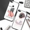 (พรีออเดอร์) เคส Huawei/Y9 2018-เคสนิ่มลายการ์ตูน พร้อมสายคล้องคอ+ห่วงคล้องนิ้ว