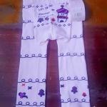 กางเกงก้นบาน size 80 ยาว 16 นิ้ว size 90 ขนาด ยาว 17 นิ้ว