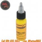[ETERNAL INK] หมึกสักอีเทอนอลสีเหลือง หมึกสักลายเอทเทอนอล สีสักลายเอทานอลสีเหลือง ขนาด 1 ออนซ์ TATTOO INK ( BUMBLE BEE - 1OZ)