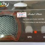 แผ่นรองบันไดคลีต Pedal Plate สำหรับใช้รองเท้าทั่วไปปั่น ยี่ห้อ Ritchy รุ่น SPD ใช้กับบันได Shimano