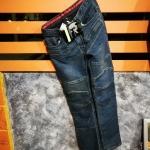 กางเกงขี่มอเตอร์ไซค์ KOMINE ยีนส์ PK718 New สีเข้ม