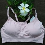 เสื้อชั้นใน Sport Braแบบเปิดเต้าให้นม Dubach สีชมพู Size S , M, L
