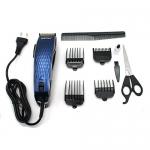[KEMEI] ปัตตาเลี่ยนคมมีสาย ปัตตาเลี่ยนไฟฟ้า แบตเตอร์เลี่ยนตัดผมชนิดมีสาย แบตเตอเลี่ยนตัดผมชาย แบตตาเลี่ยนเด็ก อุปกรณ์ตัดผม ที่ตัดผมชาย BLUE Professional Electric Hair Clipper For Men & Women (4804)