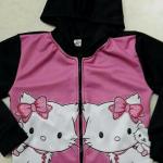เสื้อกันหนาว แมวเหมียว สีชมพู 3- 8 ปี ราคา 199 บาท