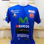 เสื้อยืด yamaha MotoGP 2018 ผ้าไมรโคร #1