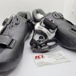 Combo Shimano Set รองเท้ารุ่น RP5 Black พื้นคาร์บอน รับทันที บันไดคลีตรุ่น PD5800 105 Carbon