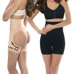 กางเกงเสริมสะโพก+เสริมก้น กระชับหน้าท้อง (สีเนื้อ)