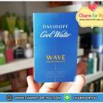 น้ำหอมแท้ DAVIDOFF Cool Water ดาวิดอฟ คูล วอเตอร์ เวฟ เออ เดอ ทอบเล็ต ราคาตัวแทนทุกระดับ หลอดละ 85 บาท