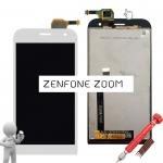 ราคาหน้าจอชุด Asus Zenfone Zoom ZX551KL สีขาว แถมฟรีไขควง ชุดแกะเครื่อง+กาวติดหน้าจอ