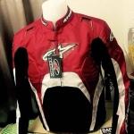 เสื้อการ์ด Alpinestar โหนกหลัง สีแดง