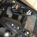 กระจกปลายแฮนด์มอเตอร์ไซค์ Racing Power แท้