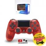 DUALSHOCK®4 Wireless Controller :: Red Crystal CUH-ZCT2G 18 (สีแดงใส)