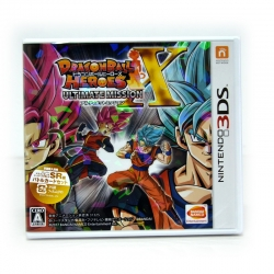 3DS™ Dragon Ball Heroes Ultimate Mission X Zone JP, Japanese ราคา 1790.-