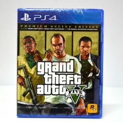 GTA V เวอร์ชั่นพิเศษ ++ PS4™ Grand Theft Auto V: Premium Online Edition Zone 3 Asia / English ราคา 2190.-