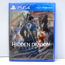 PS4 Hidden Dragon: Legend Zone Asia / English / PLAS-10158 ราคา 1090.- *แถมฟรี ArtBook