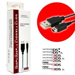 สายชาร์จ USB Charger™ สำหรับ 3DSทุกรุ่น, new 3DS LL / XL