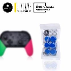 PS4/JOY-PRO Skull & Co. Thumb Grip Set [ฺBlue] ราคา 390.- // ส่งฟรี