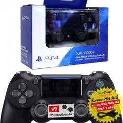 【New】Dualshock 4 Wireless Controller สีดำ รุ่นใหม่ CUH-ZCT2G