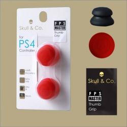 Skull & Co.™ 【FPS Master】 Thumb Grip (Red) ทัมพ์กริป ครอบปุ่มอนาล็อก สีแดง รุ่น FPS Master +9.5mm.