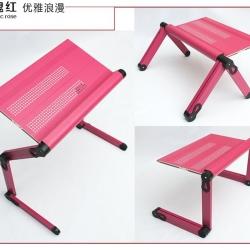โต๊ะNotebook เอนกประสงค์ 52ซม. (ดำ,ชมพู,ขาว)