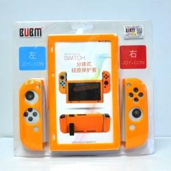 BUBM™ Soft Silicone Case Anti-slip For Switch and Joy-con Color:Orange ราคา 490.-