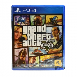 PS4 GTA 5 (Zone 3) Grand Theft Auto V (Best Seller )