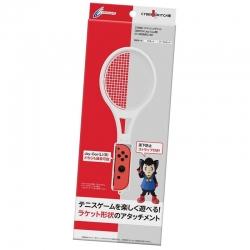 ++ อุปกรณ์เสริมจอยคอน ไม้เทนนิส ++ CYBER · Smash Racket for Nintendo Switch Joy-Con (White) ราคา 790.-