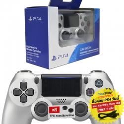 【New】Dualshock 4 Wireless Controller สีเงิน รุ่นใหม่ CUH-ZCT2G 15