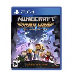 PS4 MINECRAFT Story Mode Zone 1 US ? English // SALE //