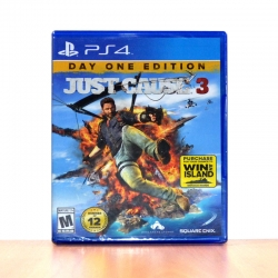 PS4 Just Cause 3 Zone 2 EU eng.