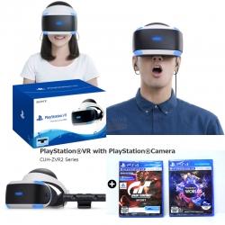 VR รุ่นใหม่ เวอร์ชั่น 2 (CUH-ZVR 2 Series) / PSVR with Camera Bundle Set ประกันศูนย์ ราคา 11990.- *แถมฟรี 2 เกม*