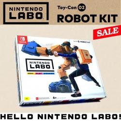 LABO ชุดหุ่นยนต์ (กล่องเดี่ยว) ++ Nintendo LABO Toy-Con 02 ROBOT KIT !! ราคาพิเศษ 1990.- ส่งฟรี ถึง 31 ก.ค.