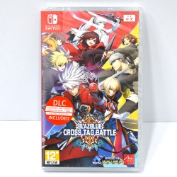 NSwitch BlazBlue: Cross Tag Battle [Limited Edition] Zone Asia / JP/EN ราคา 1490.-