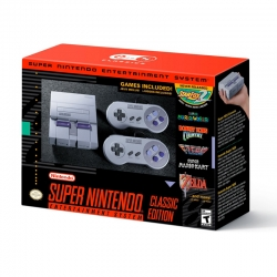 Nintendo Classic Mini: SNES (US) Super Nintendo Entertainment System ชุดละ 3790ฺB ส่งฟรี !! ( 5เม.ย.-30 เม.ย.)